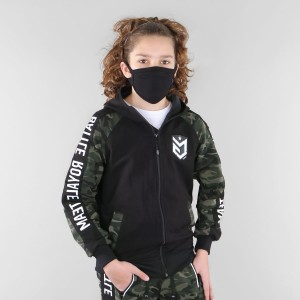 Bluza dresowa Battle Royale Team moro Zielone